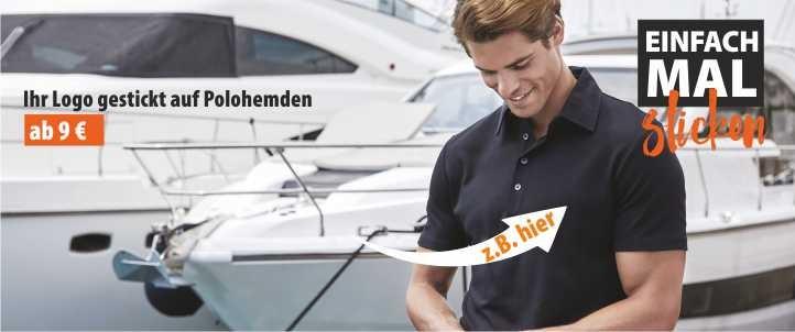Polohemd bestickt mit Ihrem Logo