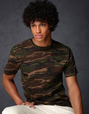 Anvil Camouflage Tee