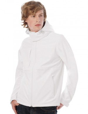 B+C Hooded Softshell / Men