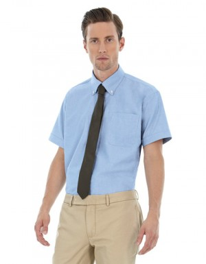 B+C Oxford Shirt Short Sleeve