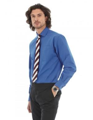 B+C Poplin Shirt Heritage Long Sleeve