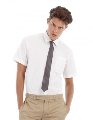 B+C Twill Shirt Sharp Short Sleeve