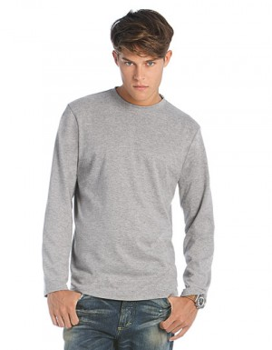 B&C T-Shirt Exact 190 Long Sleeve