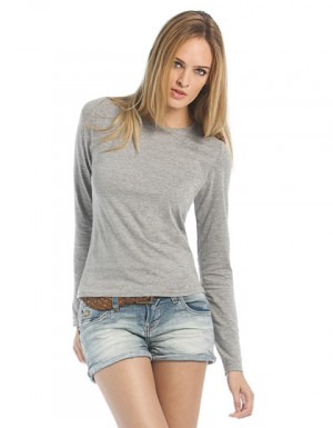 B&C T-Shirt Women-Only Longsleeve