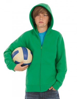 B+C Hooded Full Zip Sweat / Kids