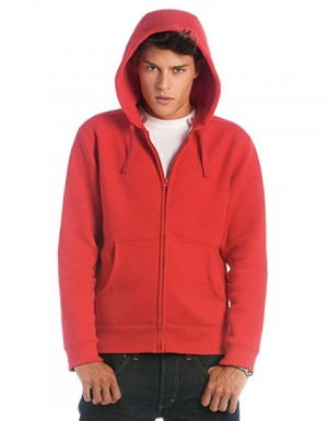B+C Hooded Full Zip Sweat / Men