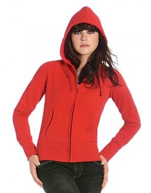 B+C Hooded Full Zip Sweat / Women