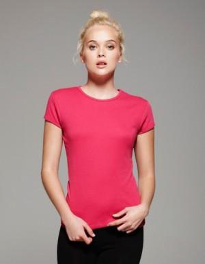 Bella Short Sleeve Crew Neck-T-Shirt