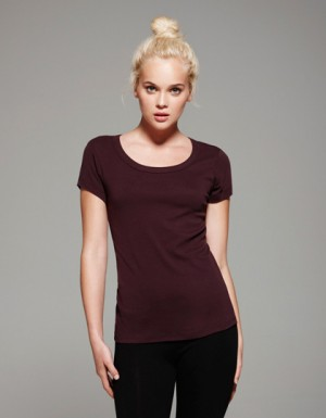 Bella Short Sleeve Scoop Neck T-Shirt