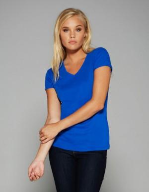 Bella Short Sleeve V-Neck T-Shirt