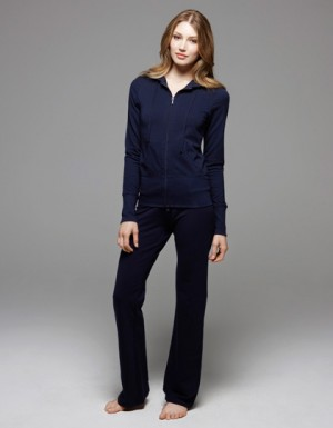 Bella French Terry Lounge Jacket