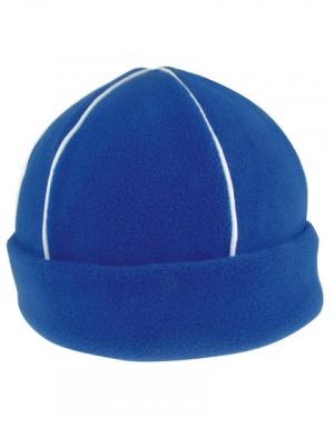 Micro-Fleece Mütze mit Paspel
