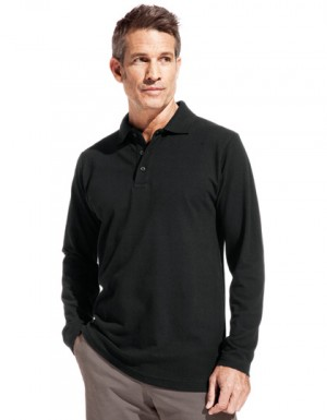 Promodoro Men´s Heavy Polo LS