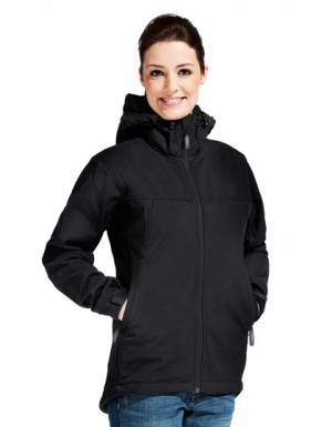 Promodoro Women´s Hoody Softshell Jacket