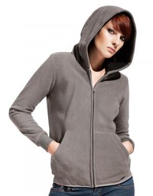 Promodoro Women´s Hooded Fleece Jacket