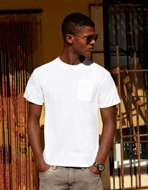 Fruit of the Loom Heavy Cotton Pocket T