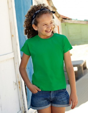 Fruit of the Loom Girls Valueweight T