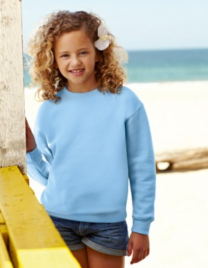 Fruit of the Loom Kids Set-in Sweat