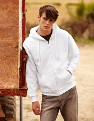 Fruit of the Loom New Hooded Sweat Jacket
