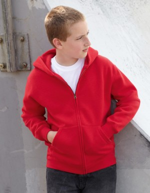 Fruit of the Loom Kids Hooded Sweat-Jacket
