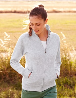 Fruit of the Loom New Lady-Fit Sweat Jacket