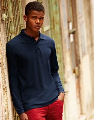 Fruit of the Loom New Premium Long Sleeve Polo