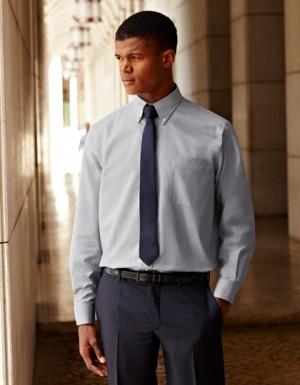Fruit of the Loom Men´s Long Sleeve Oxford Shirt