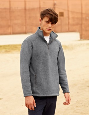 Fruit of the Loom Half-Zip Fleece