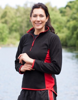 Finden+Hales Ladies Lightweight Microfleece Top