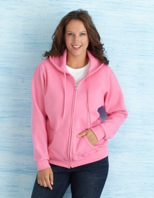 Gildan Heavy Blend Ladies´ Full Zip Hooded Sweatshirt