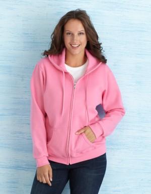 Gildan Heavy Blend Ladies´ Full Zip Hooded Sweatshirt