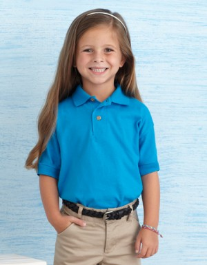 Gildan DryBlend Youth Jersey Polo