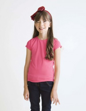 Humbugz Girls Stretch Superfit Tee