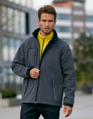 James+Nicholson Men´s Winter Softshell Jacket