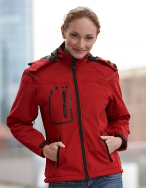 James+Nicholson Ladies Winter Softshell Jacket