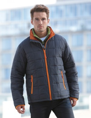 James+Nicholson Men´s Padded Light Weight Jacket