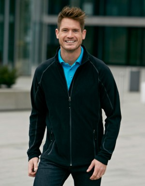 James+Nicholson Men´s Structure Fleece Jacket