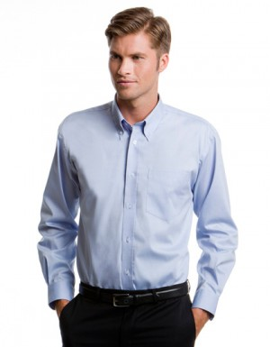Kustom Kit Men´s Corporate Oxford Shirt Longsleeve