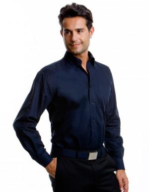 Kustom Kit Workwear Oxford Shirt Longsleeve