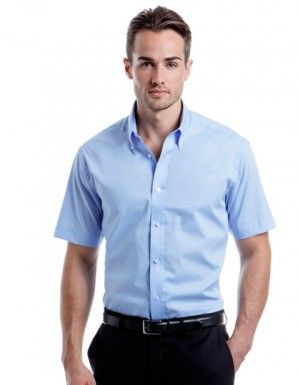 Kustom Kit City Business Shirt Short Sleeve