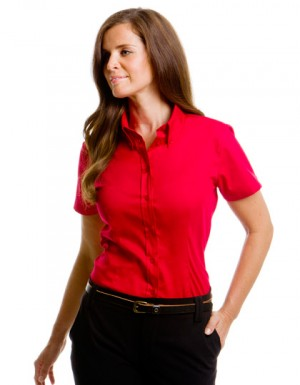 Kustom Kit Women´s Corporate Oxford Shirt Short Sleeve
