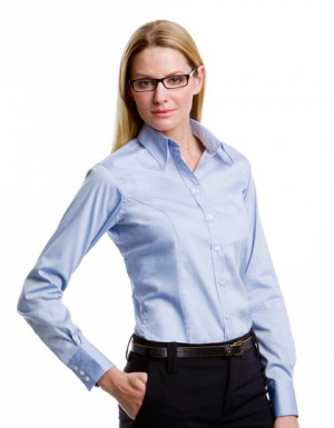 Kustom Kit Women´s Corporate Oxford Shirt Longsleeve