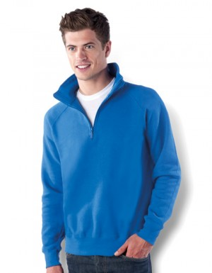 Kariban 1/4 Zip Raglan Sleeves Sweatshirt
