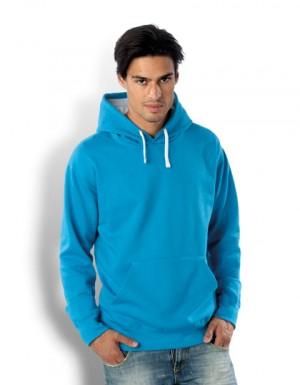 Kariban Contrast Hooded Sweatshirt