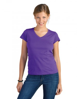 SOL´S Ladies V-Neck-T-Shirt Moon