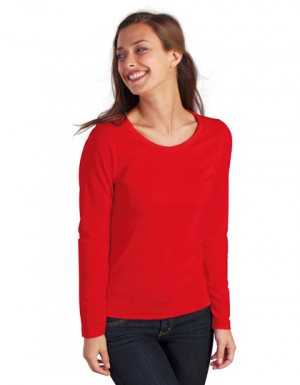 SOL´S Womens Long Sleeves-T Majestic