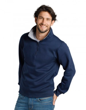 SOLS Men Sweat Shirt Scott 1/4 Zip