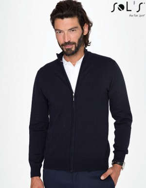 SOL´S Zipped Knitted Cardigan Gordon Men