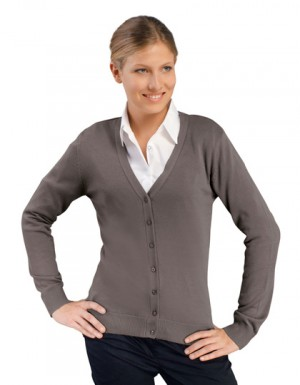 SOL´S Golden Women V-Neck Knitted Cardigan