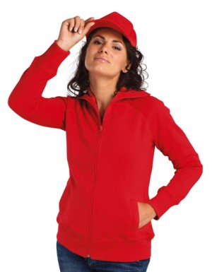 SOLS Women´s Zipped Jacket Soda